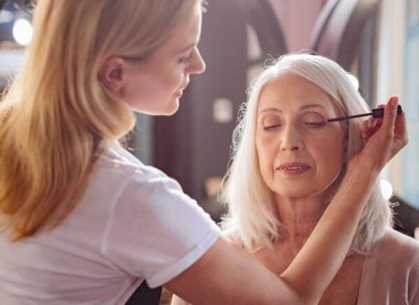 As a beauty therapist, how should you market yourself to older customers?